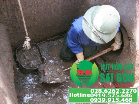Hút hầm cầu quận 1 giá rẻ, nhanh chóng, chất lượng tại TPHCM