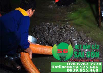Hút hầm cầu quận bình tân giá rẻ, nhanh chóng, chất lượng tại TPHCM